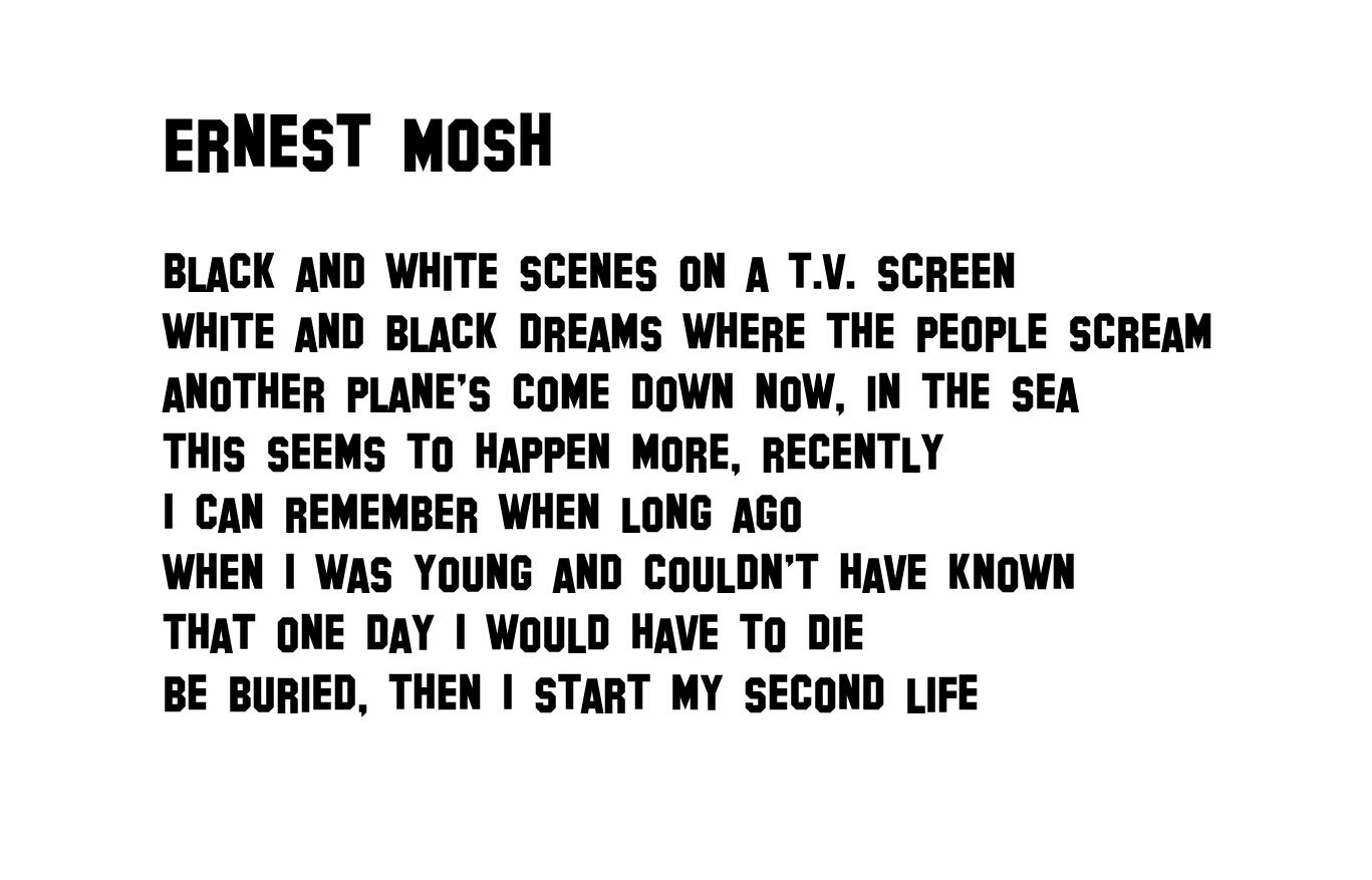 Ernest Mosh - lyrics